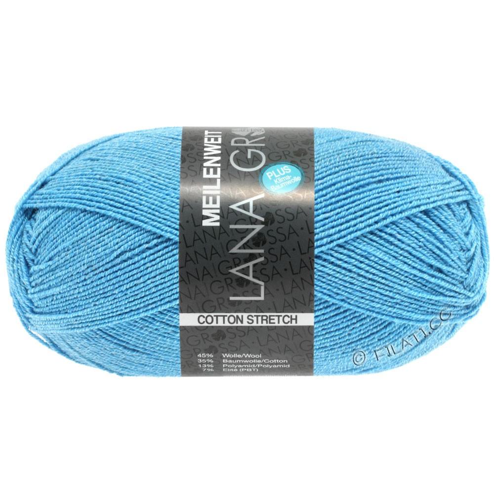 Lana Grossa MEILENWEIT 100g Cotton Stretch | 8045-blå