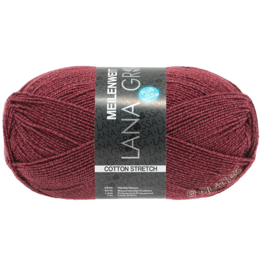 Lana Grossa MEILENWEIT 100g Cotton Stretch | 8050-vinrød