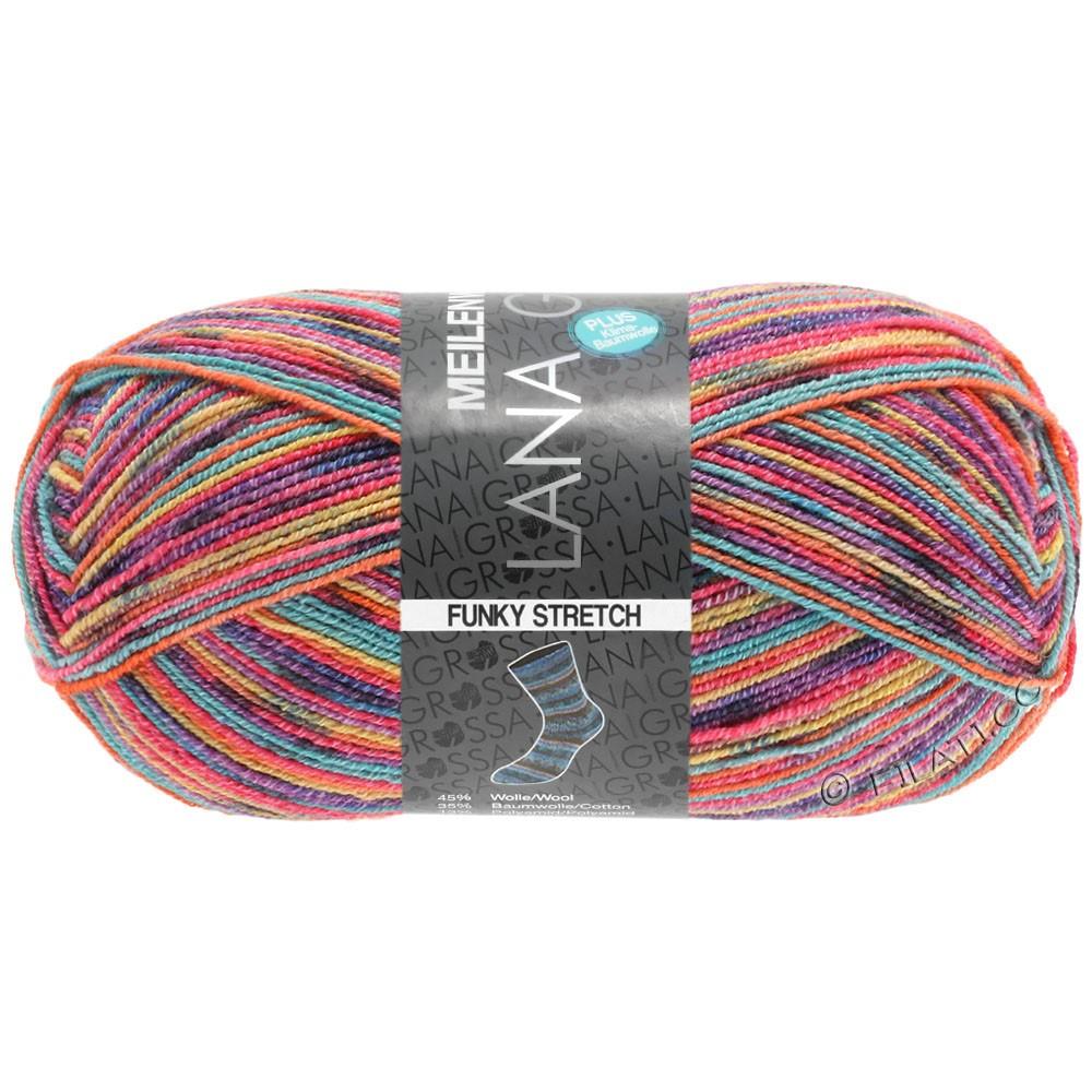 Lana Grossa MEILENWEIT 100g Cotton Stretch Print | 3114 - Funky Stretch-