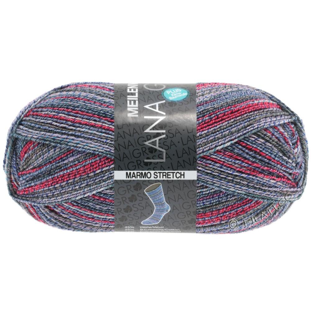 Lana Grossa MEILENWEIT 100g Cotton Stretch Print | 7259 - Marmo Stretch-