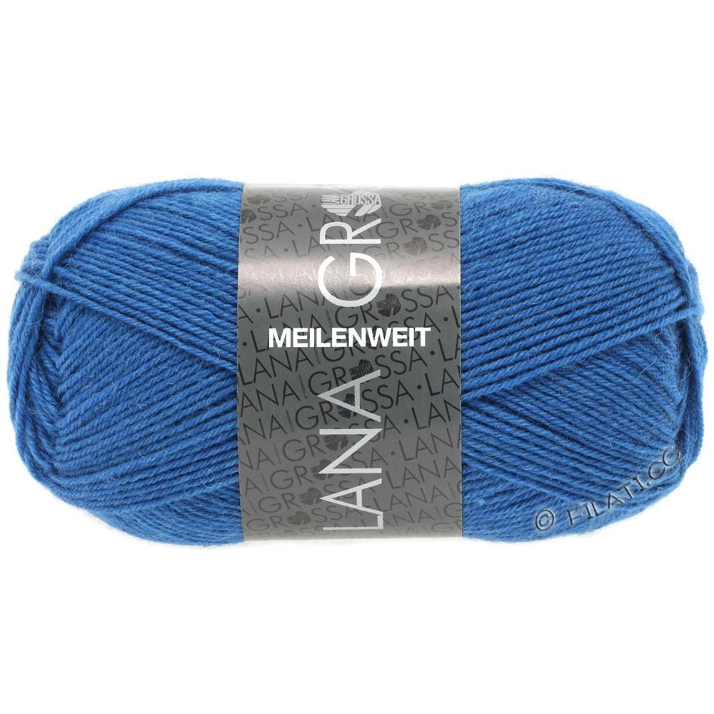Lana Grossa MEILENWEIT 50g Uni | 1293-koboltblå