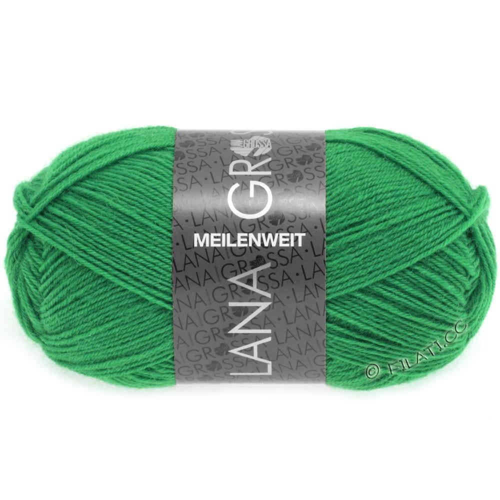 Lana Grossa MEILENWEIT 50g Uni | 1356-jade-grønne