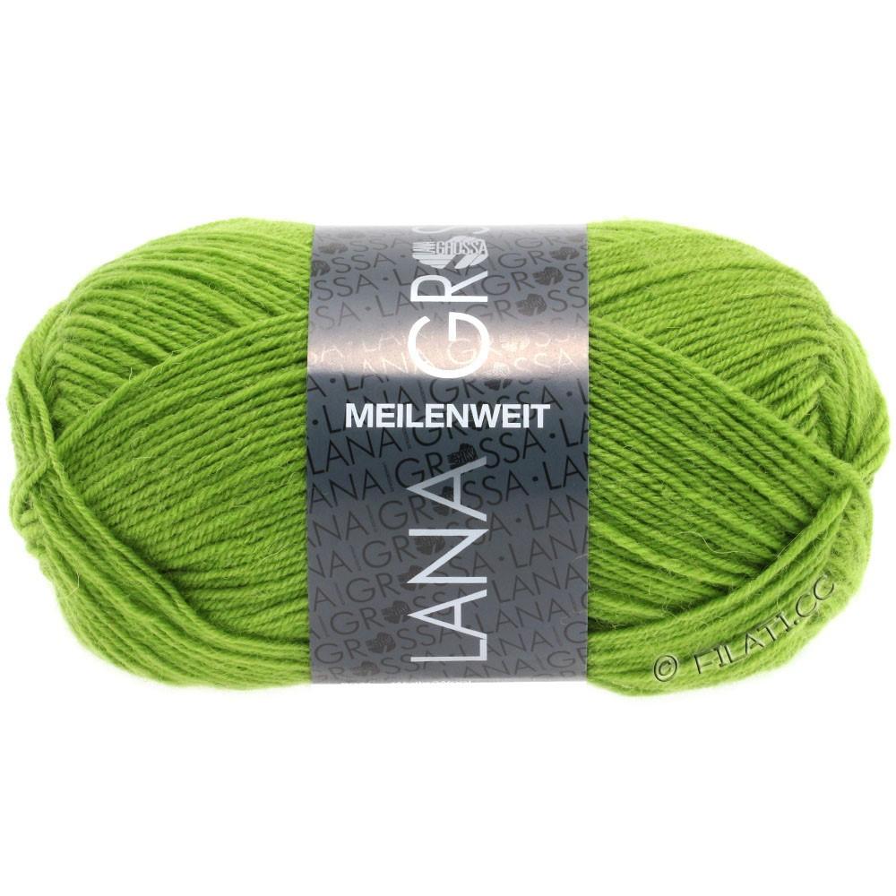 Lana Grossa MEILENWEIT 50g Uni | 1362-gulgrøn