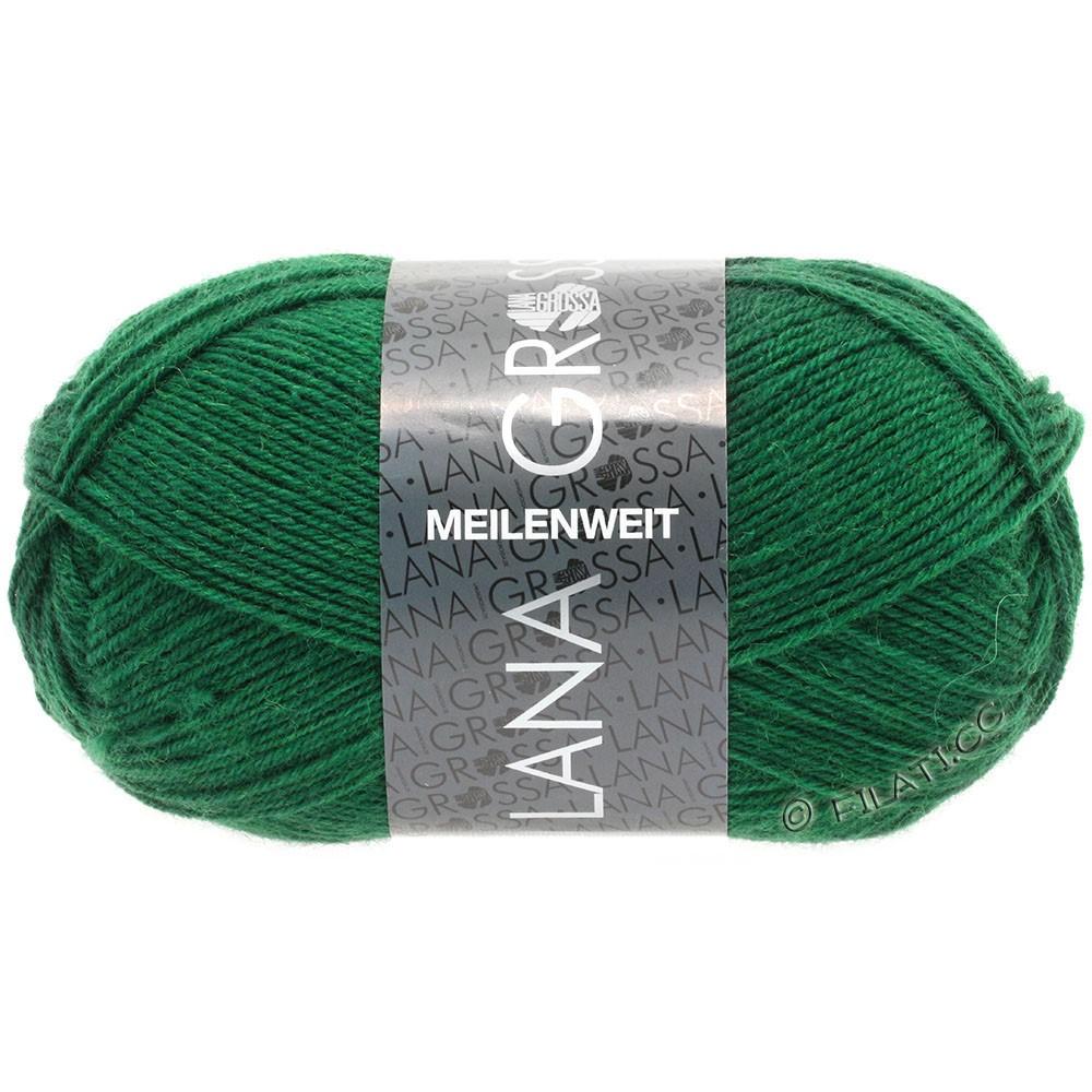 Lana Grossa MEILENWEIT 50g Uni | 1367-flaske grøn