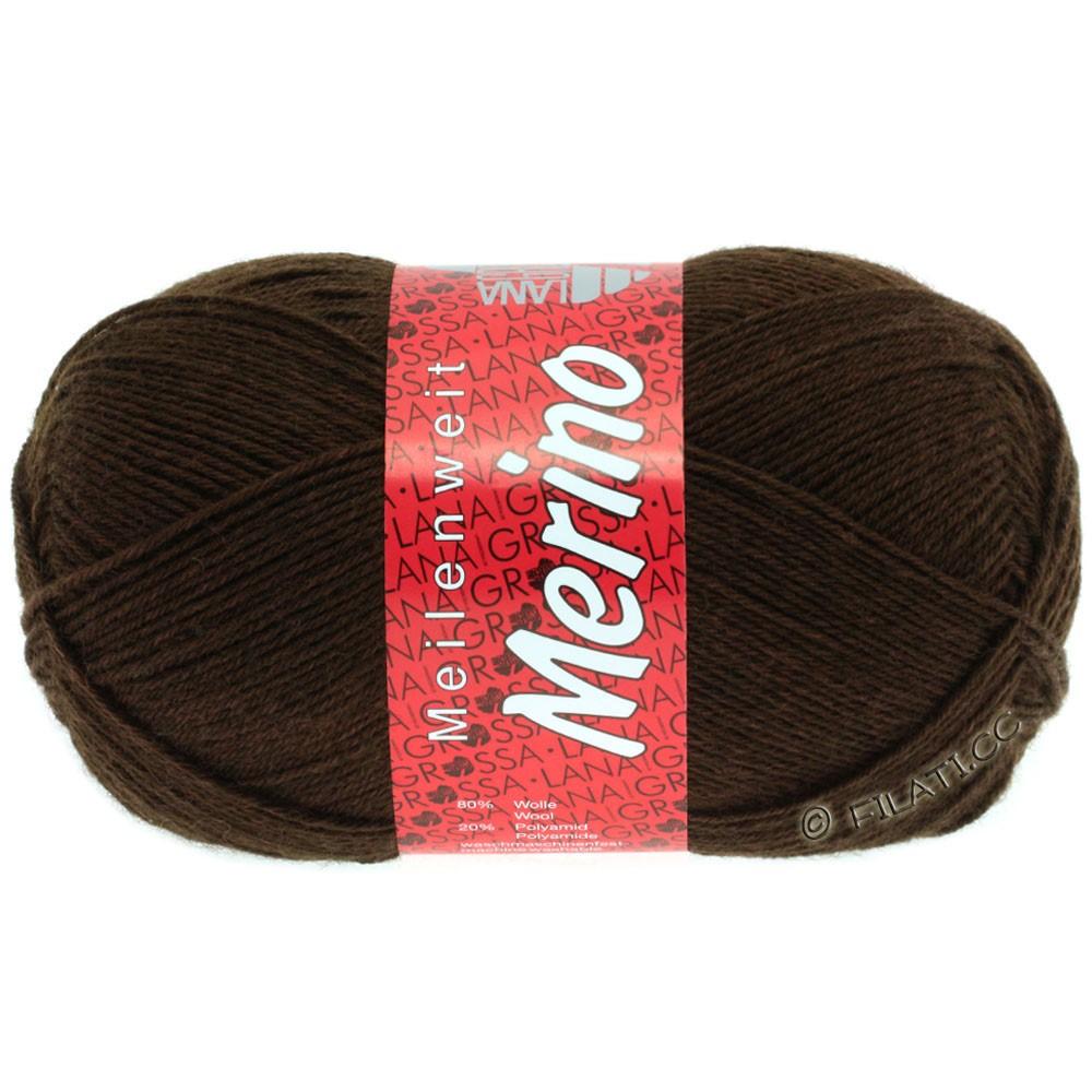 Lana Grossa MEILENWEIT 100g Merino Uni | 2040-brun