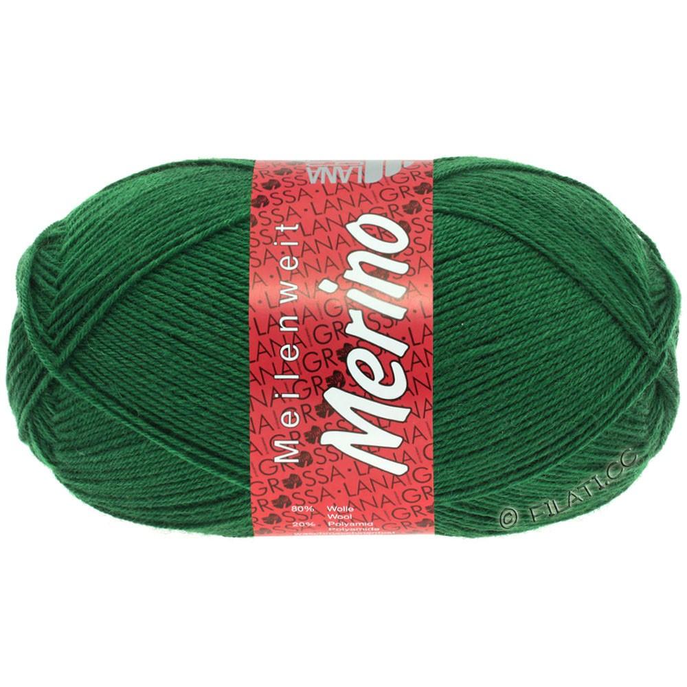 Lana Grossa MEILENWEIT 100g Merino Uni | 2045-flaske grøn