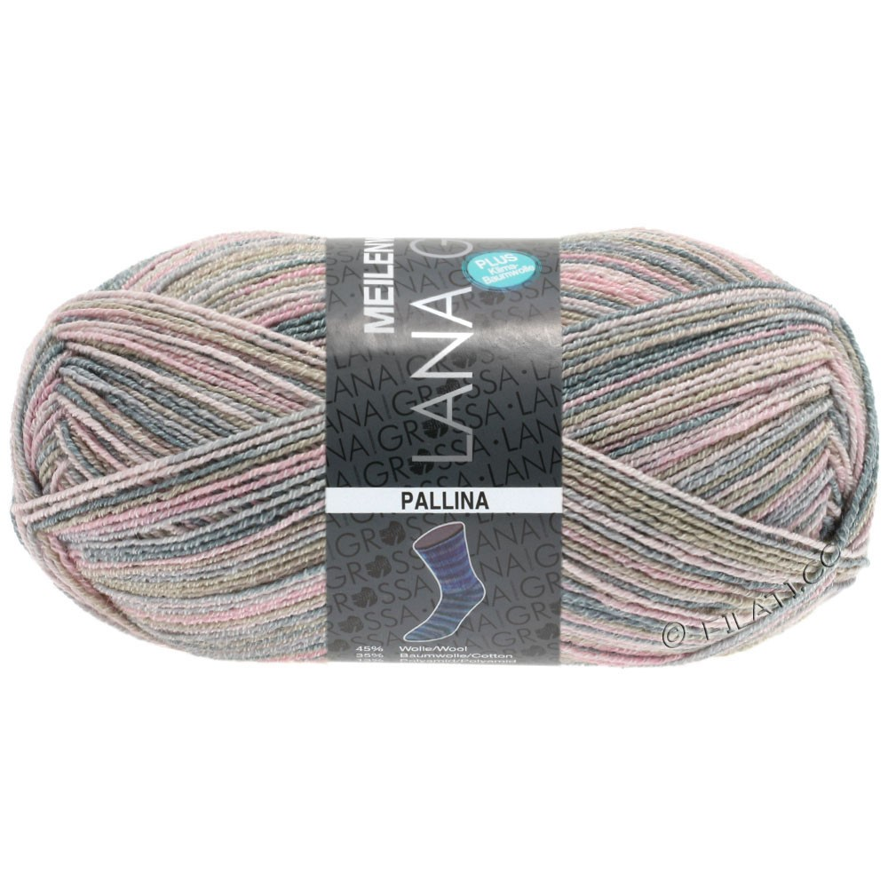 Lana Grossa MEILENWEIT 100g Cotton Stretch Print | 5108 - Pallina-