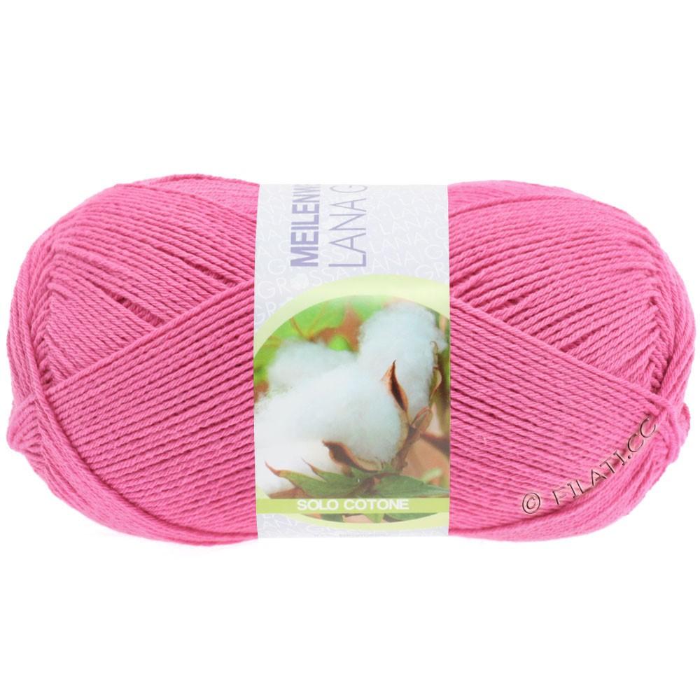 Lana Grossa MEILENWEIT 100g Solo Cotone  Unito | 3456-pink