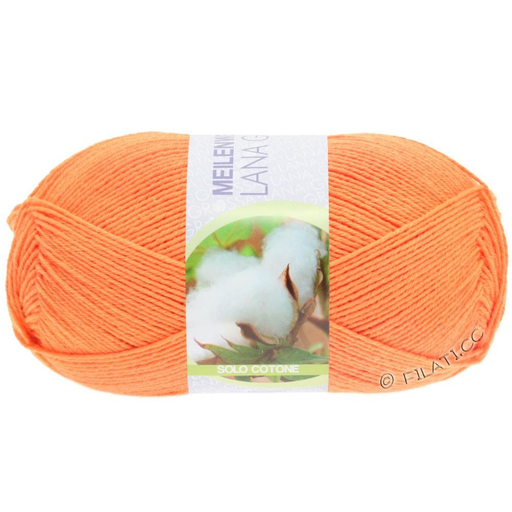 Lana Grossa MEILENWEIT 100g Solo Cotone Unito | 3463-orange