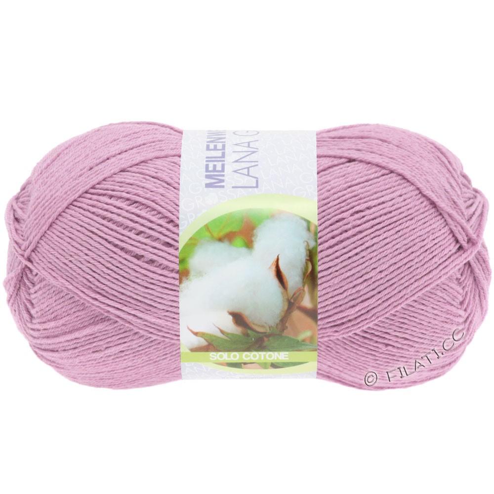 Lana Grossa MEILENWEIT 100g Solo Cotone  Unito | 3464-rosa