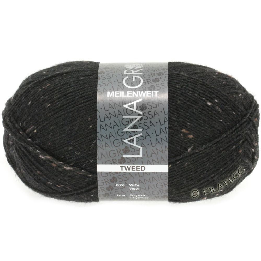 Lana Grossa MEILENWEIT 100g Tweed | 126-sort