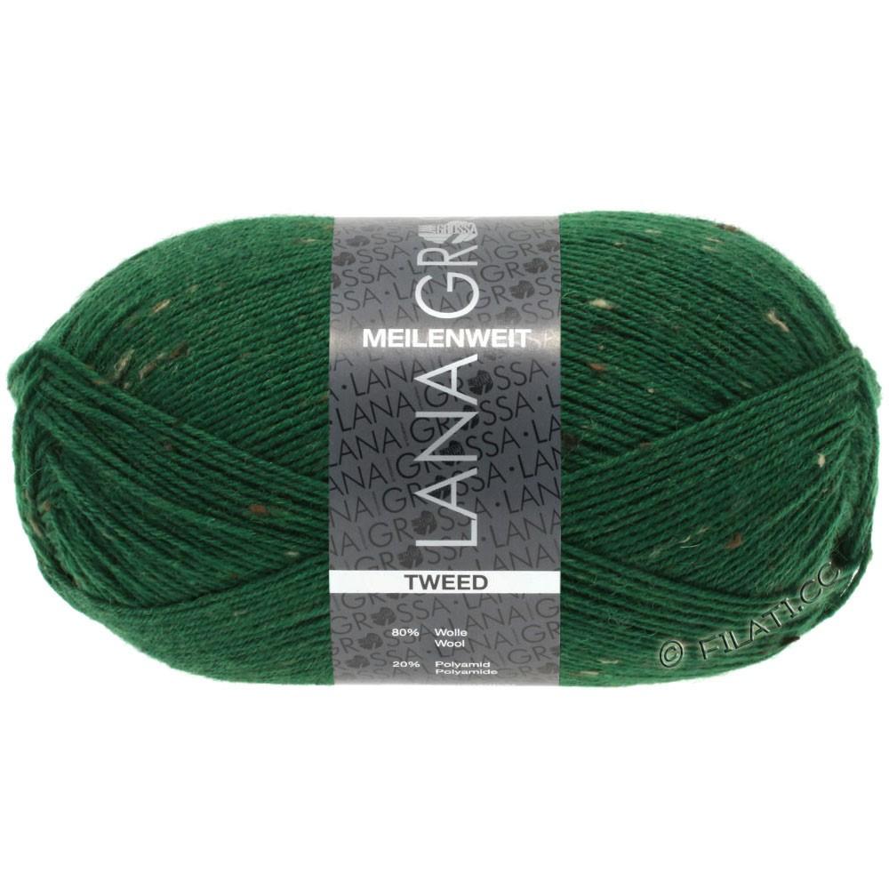 Lana Grossa MEILENWEIT 100g Tweed | 150-grøn
