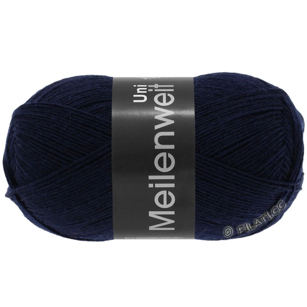 Lana Grossa MEILENWEIT 100g  Uni | 1141-mørkeblå