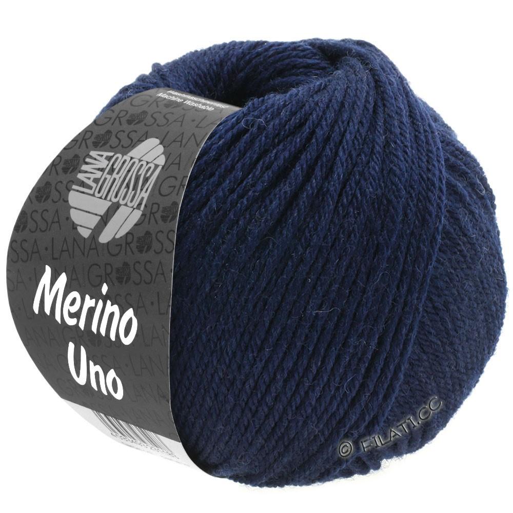 Lana Grossa MERINO UNO   04-natblå