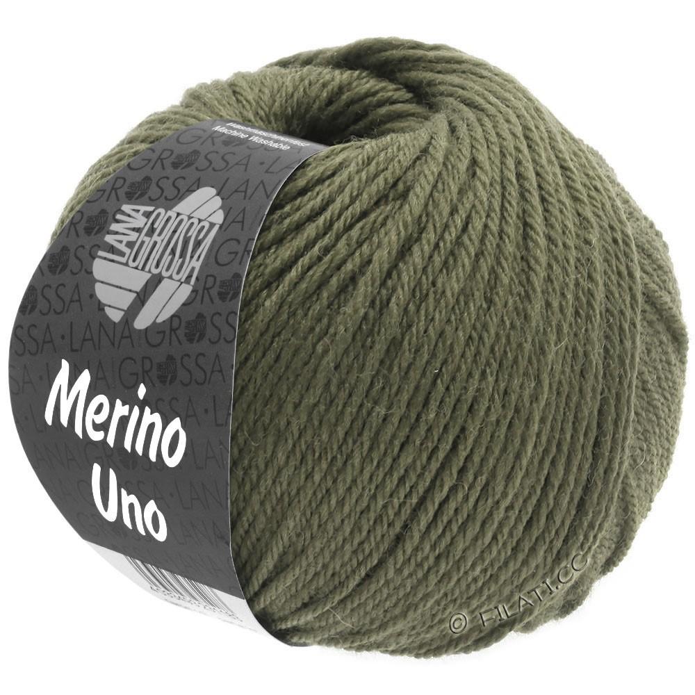 Lana Grossa MERINO UNO   19-grøngrå