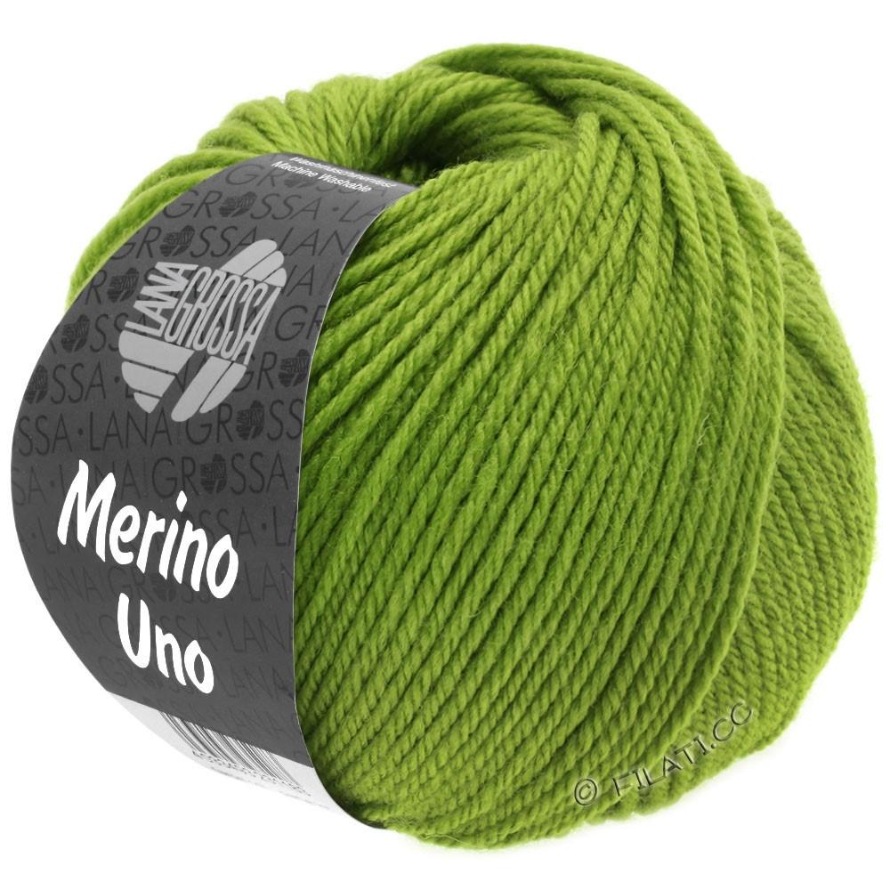 Lana Grossa MERINO UNO   21-æblegrøn