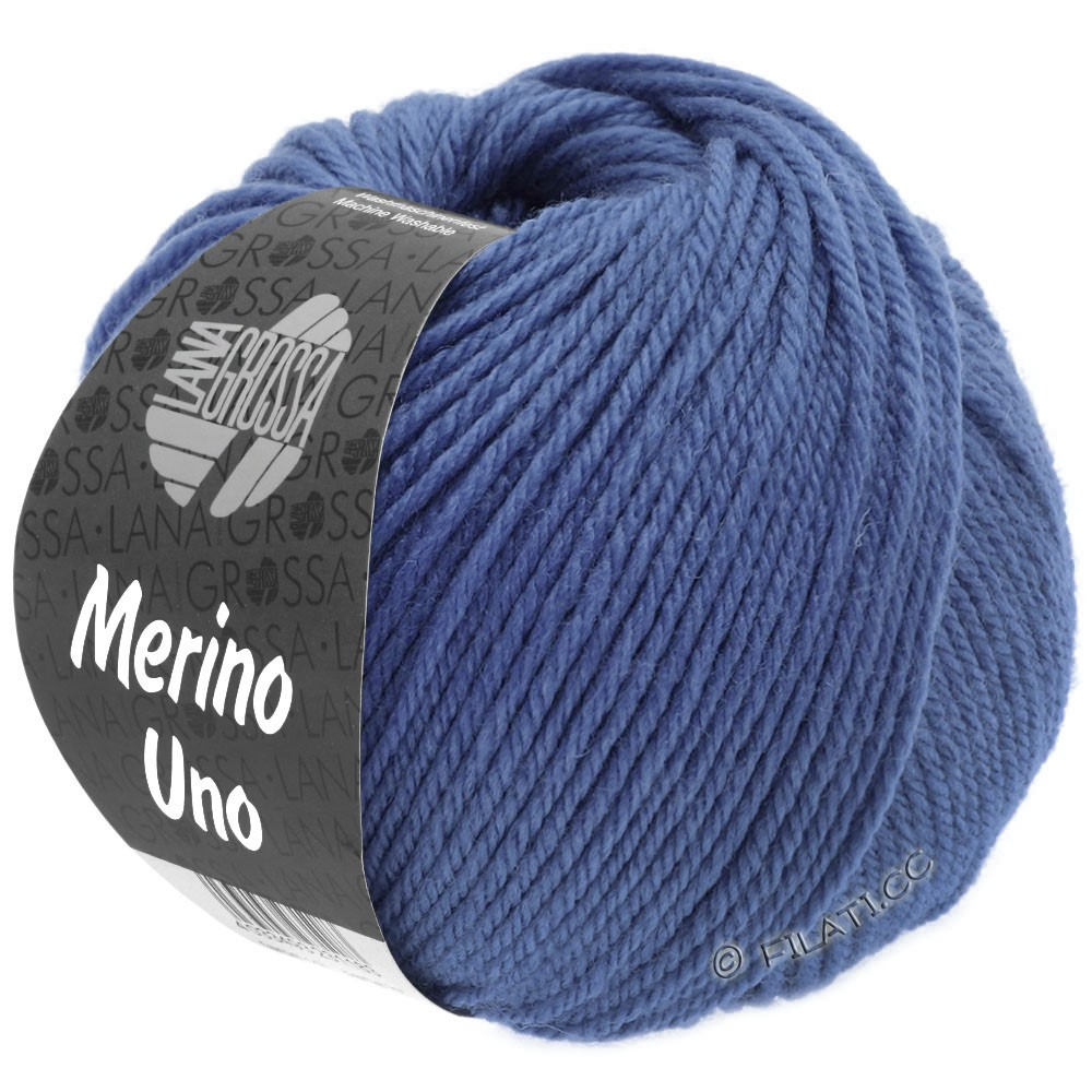 Lana Grossa MERINO UNO   23-violetblå