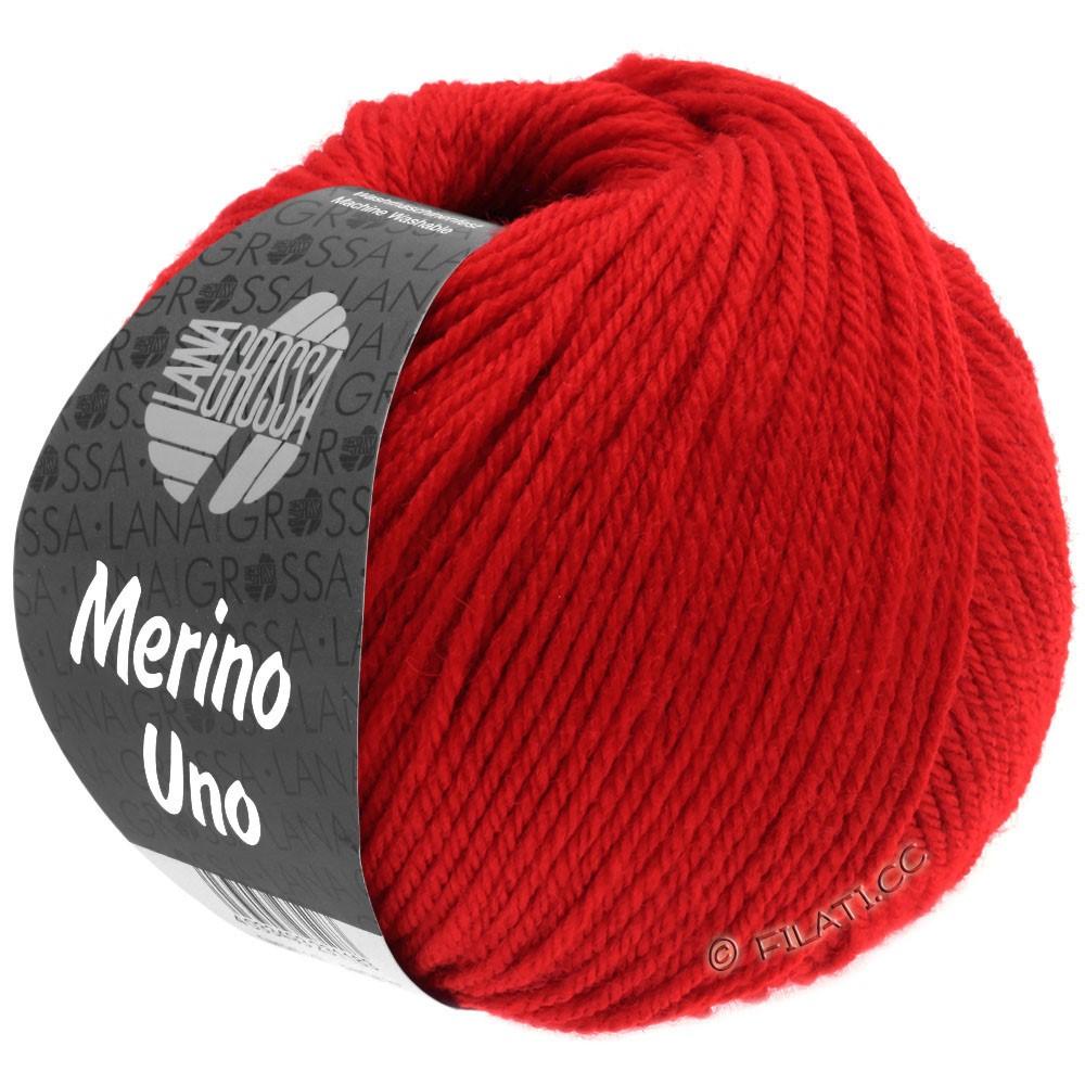 Lana Grossa MERINO UNO   26-rød