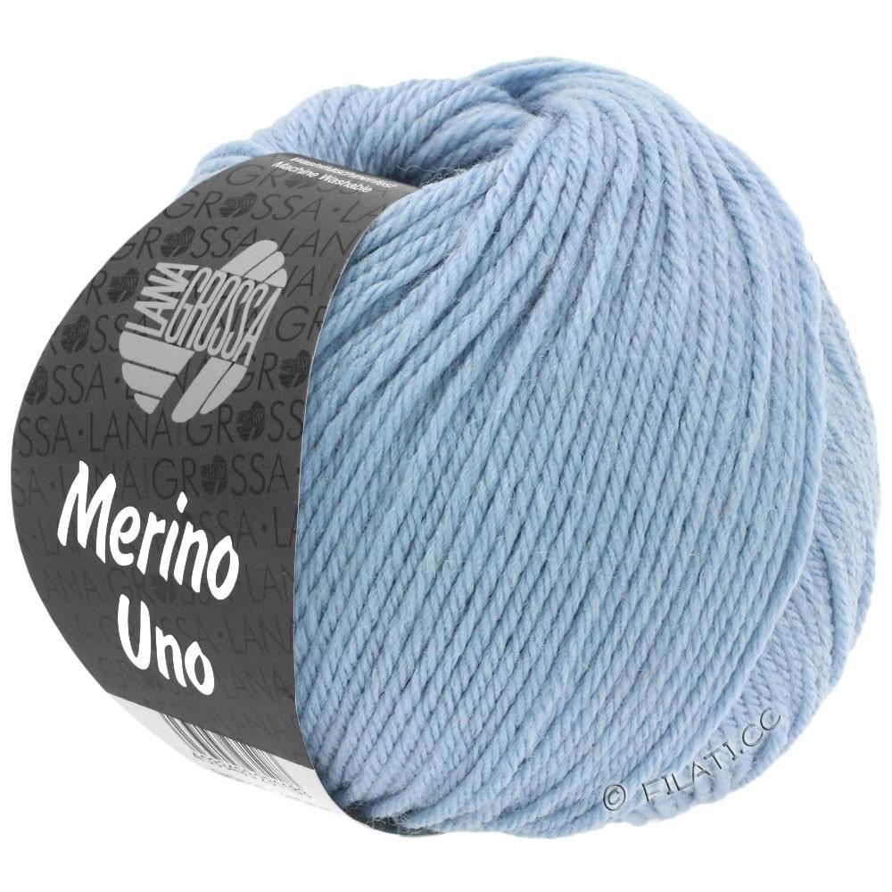 Lana Grossa MERINO UNO   28-gråblå