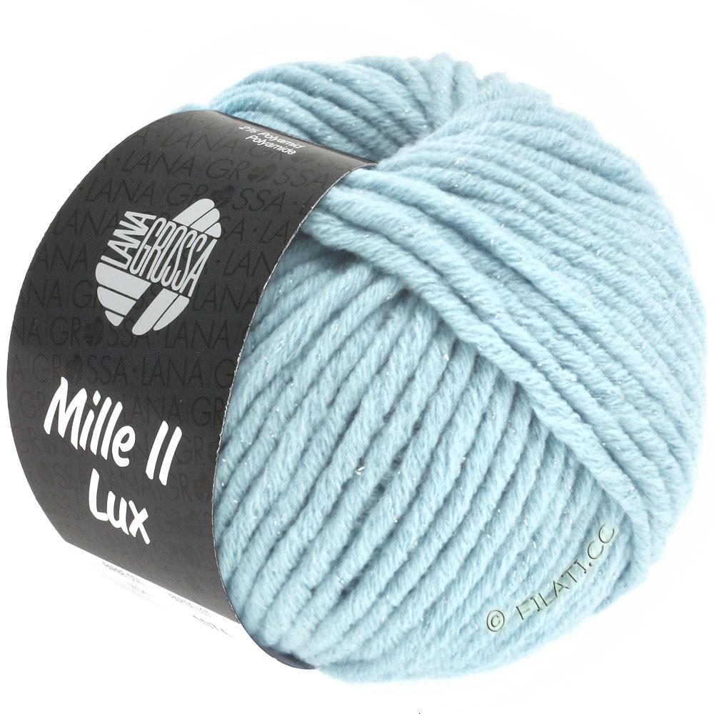 Lana Grossa MILLE II Lux   711-lyseblå