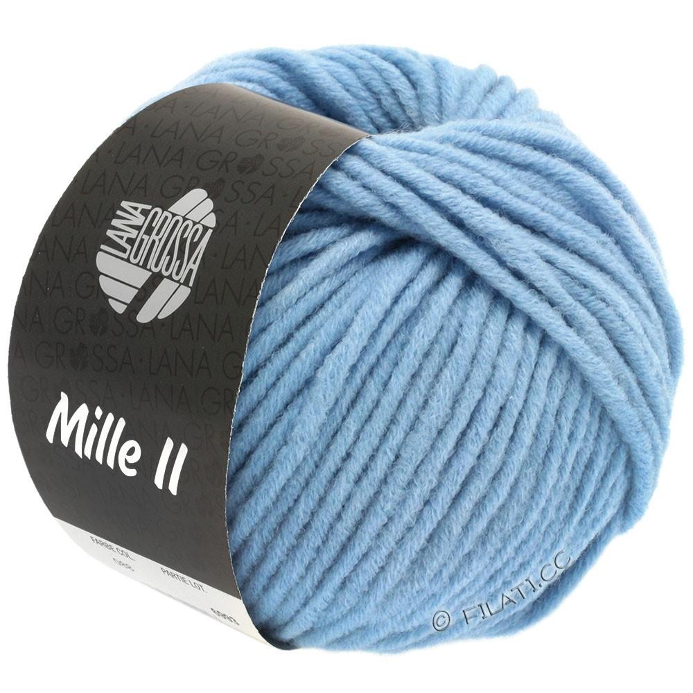Lana Grossa MILLE II  Uni | 088-himmelblå
