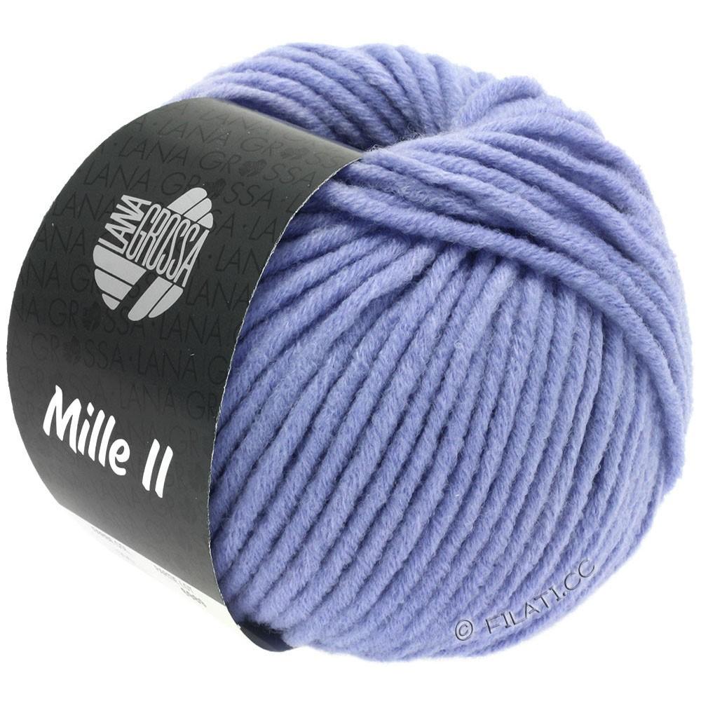 Lana Grossa MILLE II  Uni | 090-violetblå