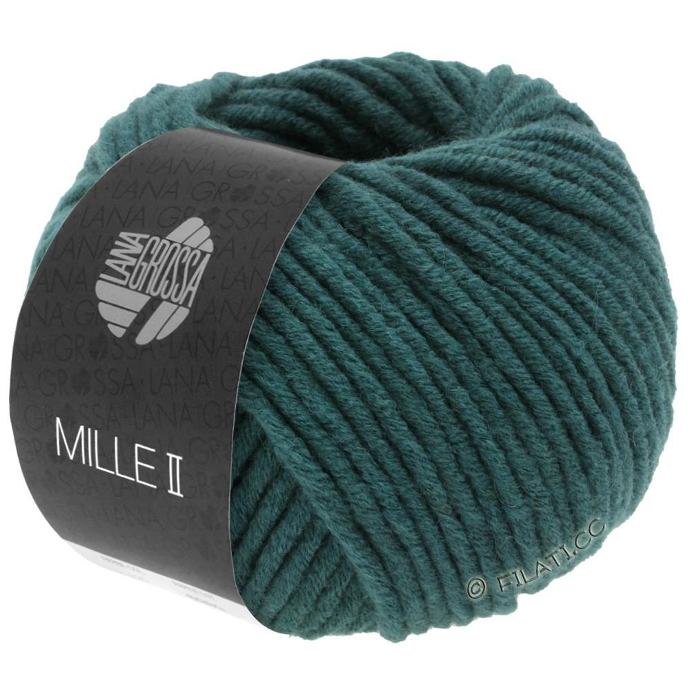 Lana Grossa MILLE II  Uni | 091-grønblå