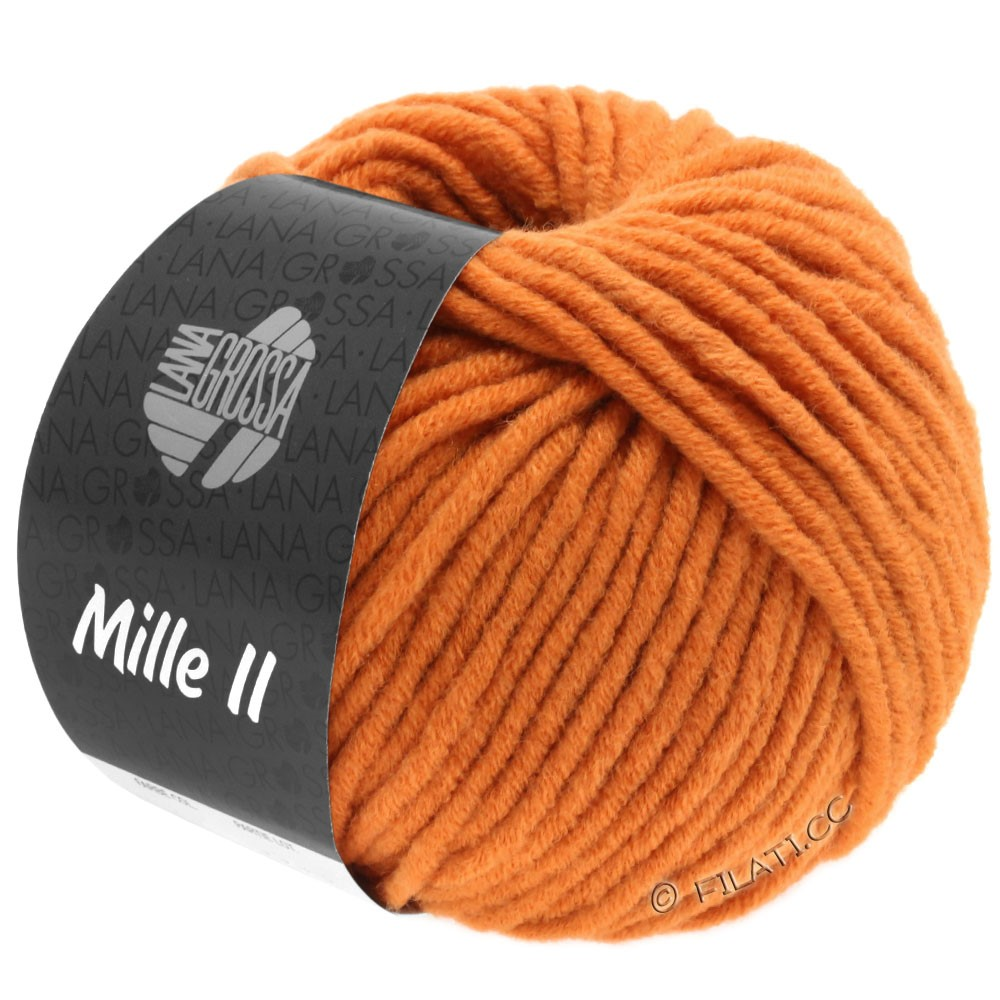 Lana Grossa MILLE II  Uni | 093-orange