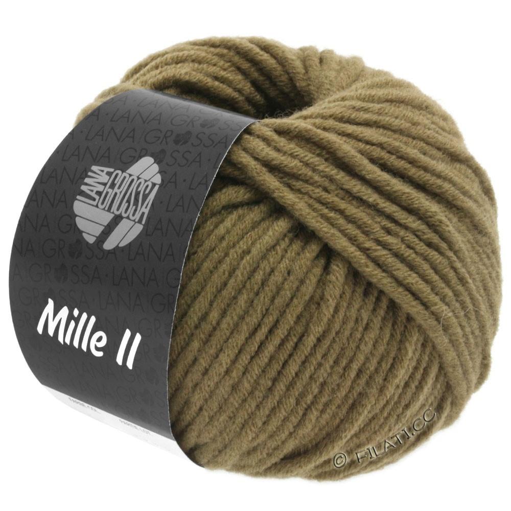 Lana Grossa MILLE II  Uni | 095-kaki