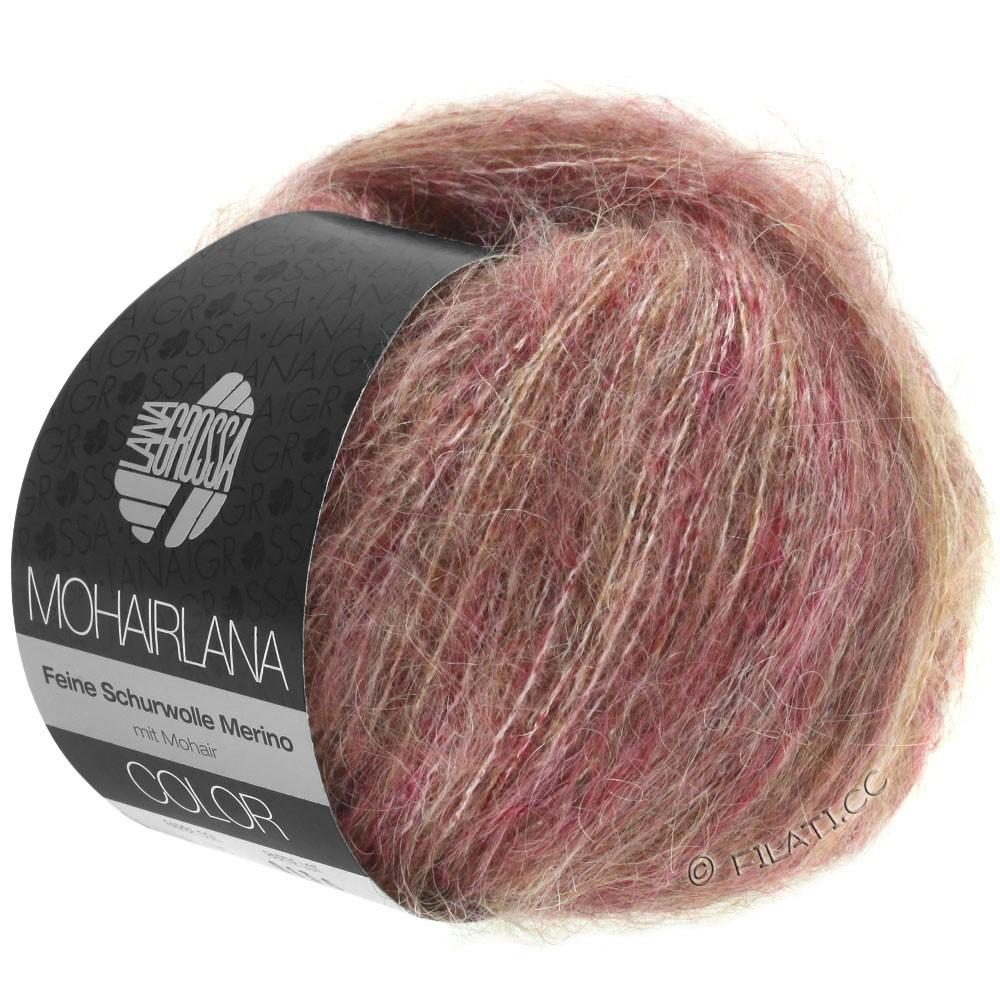 Lana Grossa MOHAIRLANA COLOR | 105-bær/gråbrun