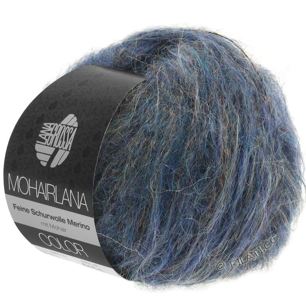 Lana Grossa MOHAIRLANA COLOR | 108-mørkejeans/blå violet