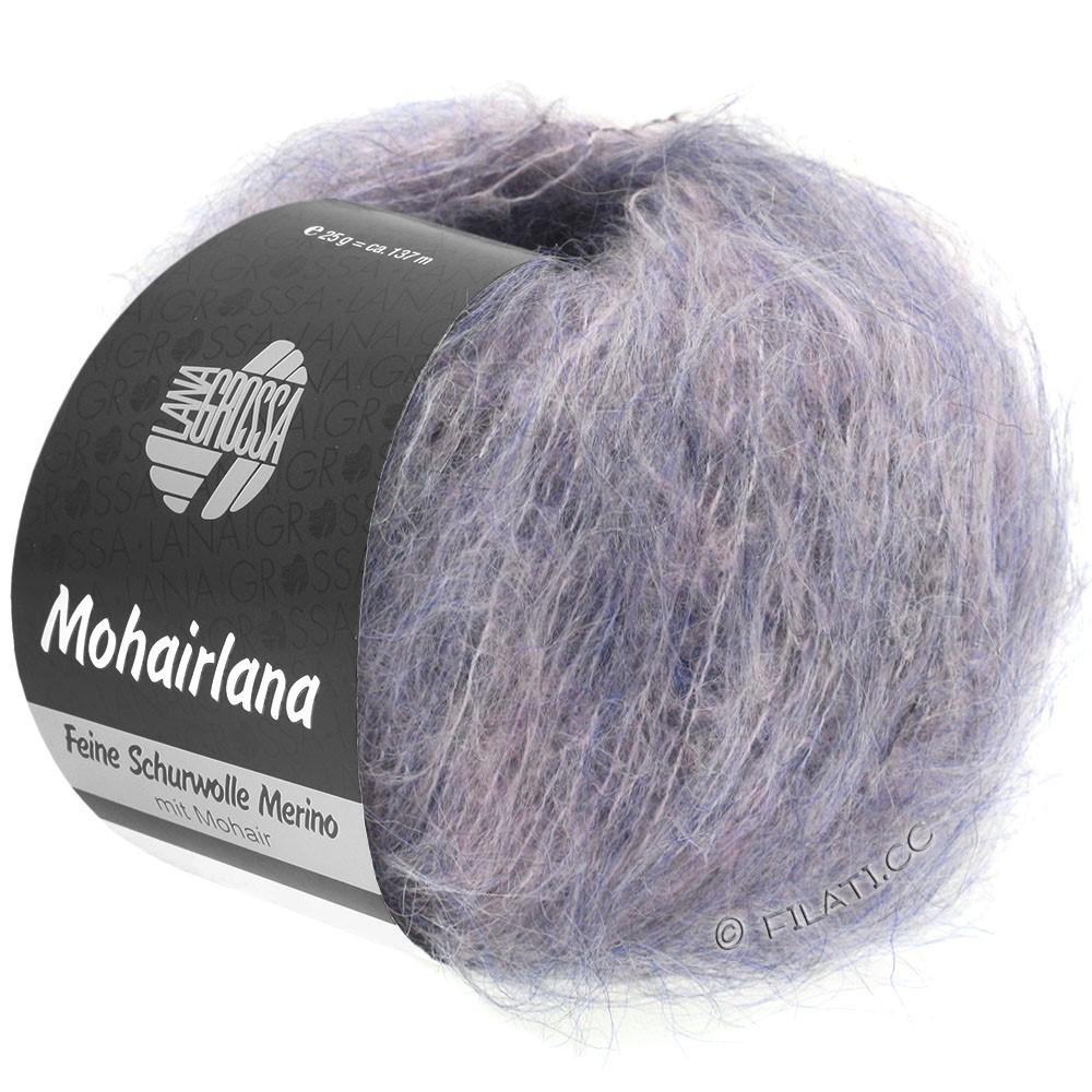 Lana Grossa MOHAIRLANA   02-grå purpur