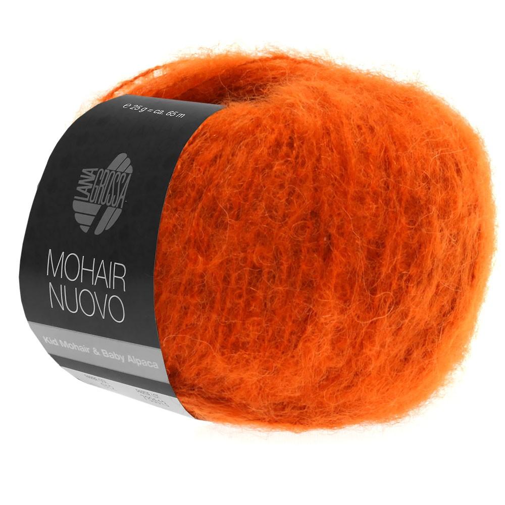 Lana Grossa MOHAIRNUOVO | 11-mørk orange