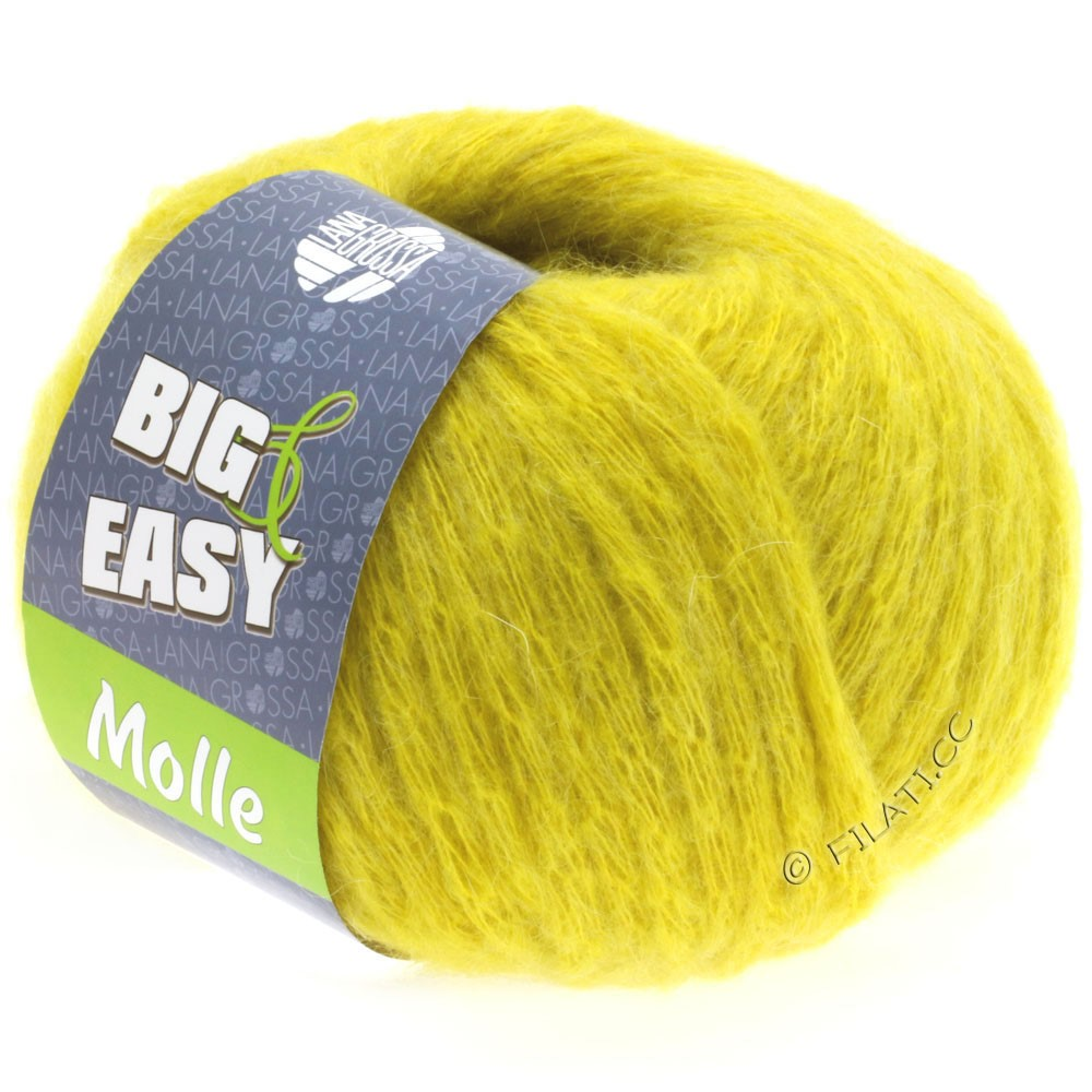 Lana Grossa MOLLE 100g (Big & Easy)   07-gul