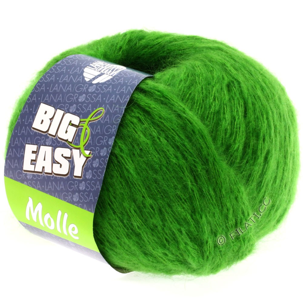 Lana Grossa MOLLE 100g (Big & Easy)   08-grøn