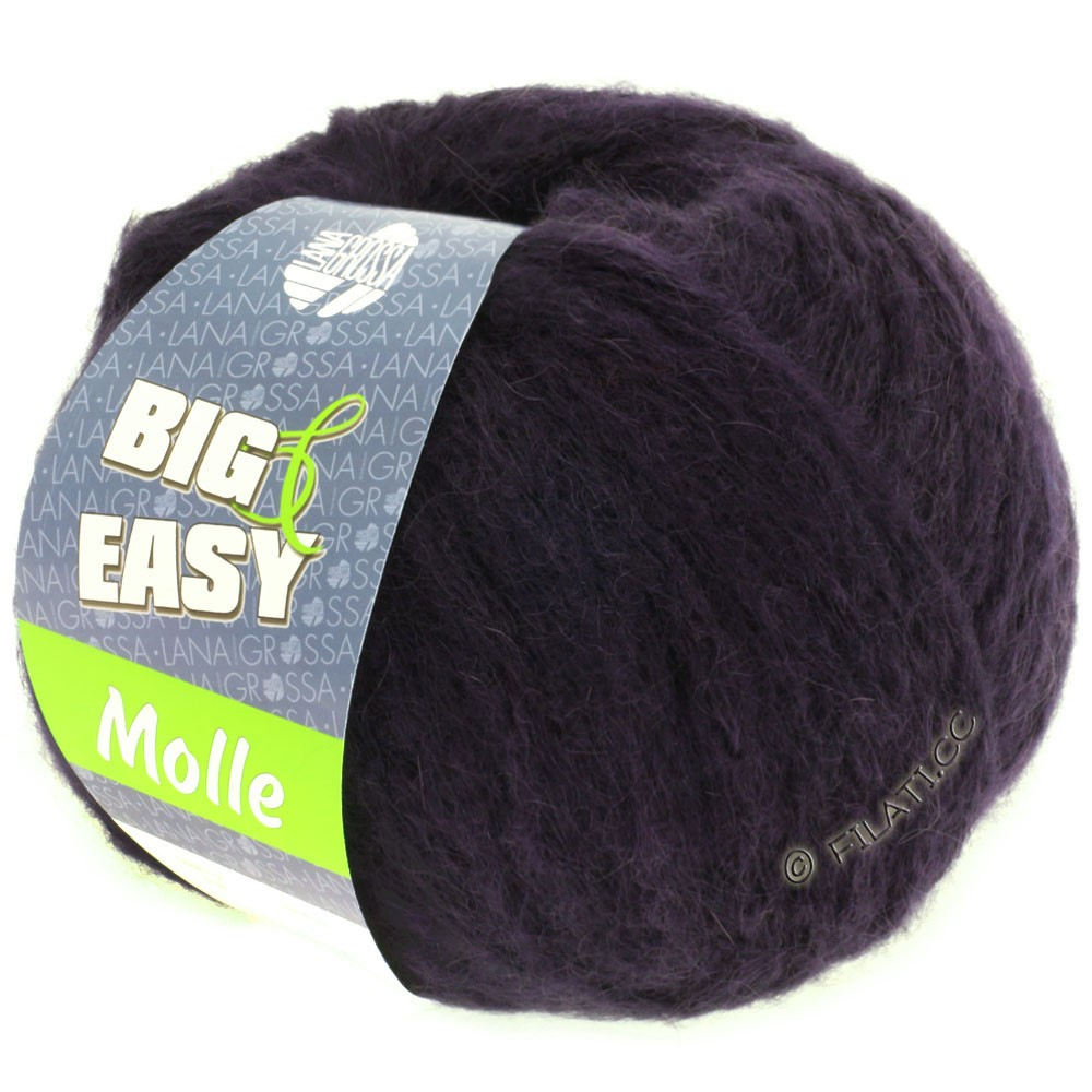 Lana Grossa MOLLE 100g (Big & Easy)   16-natblå