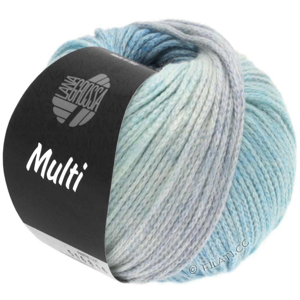 Lana Grossa MULTI | 01-lyseblå/jeans/mynte