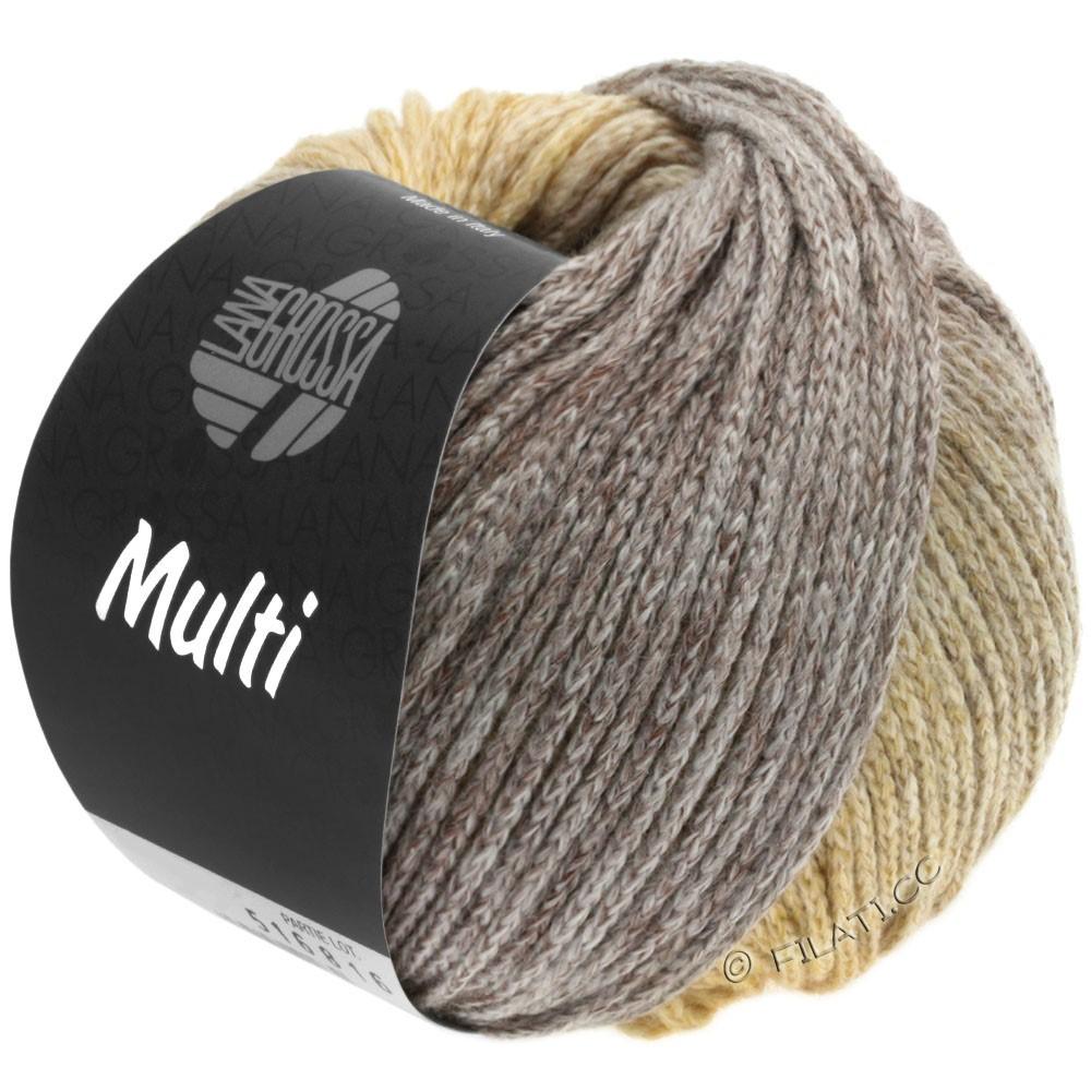 Lana Grossa MULTI | 05-sand/lysebrun/grå/beige