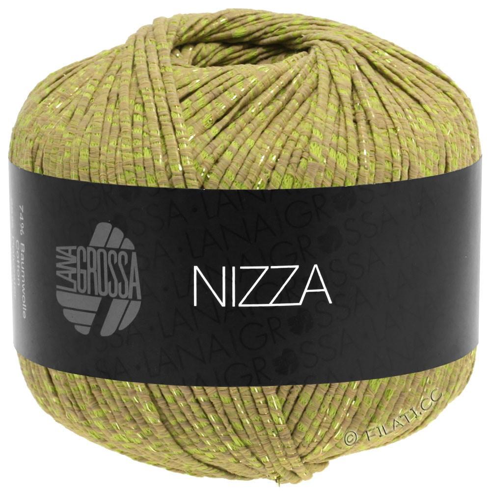 Lana Grossa NIZZA | 14-kamel/gulgrøn/gylden