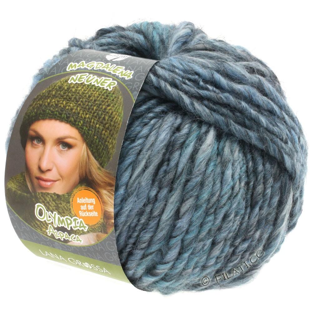 Lana Grossa OLYMPIA Alpaca | 901-lyseblå/gråblå/jeans meleret