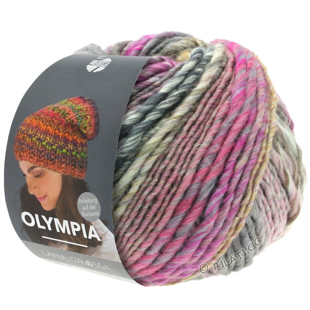 Lana Grossa OLYMPIA Classic   066-gammelrosa/grège/taupe/rosa/gråbrun