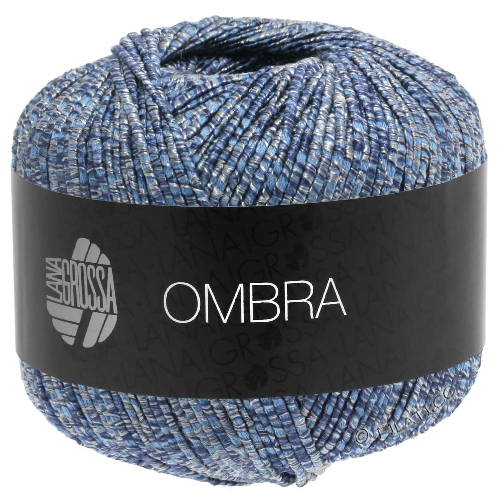 Lana Grossa OMBRA | 09-gråblå/jeans