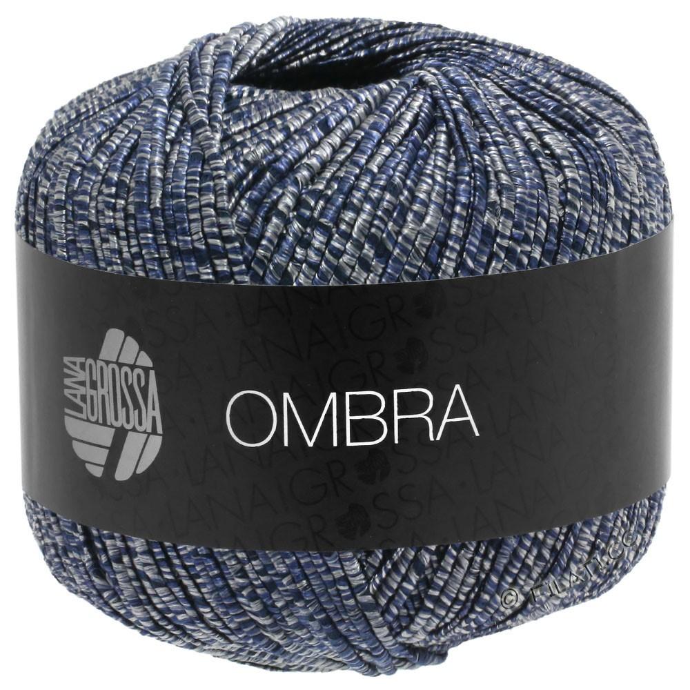 Lana Grossa OMBRA | 10-grå/natblå