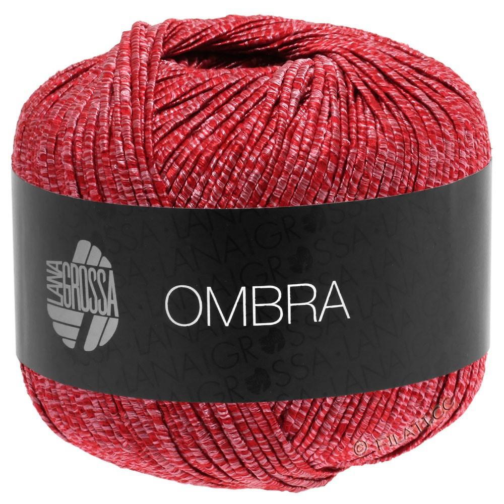 Lana Grossa OMBRA | 11-lys rød/rød