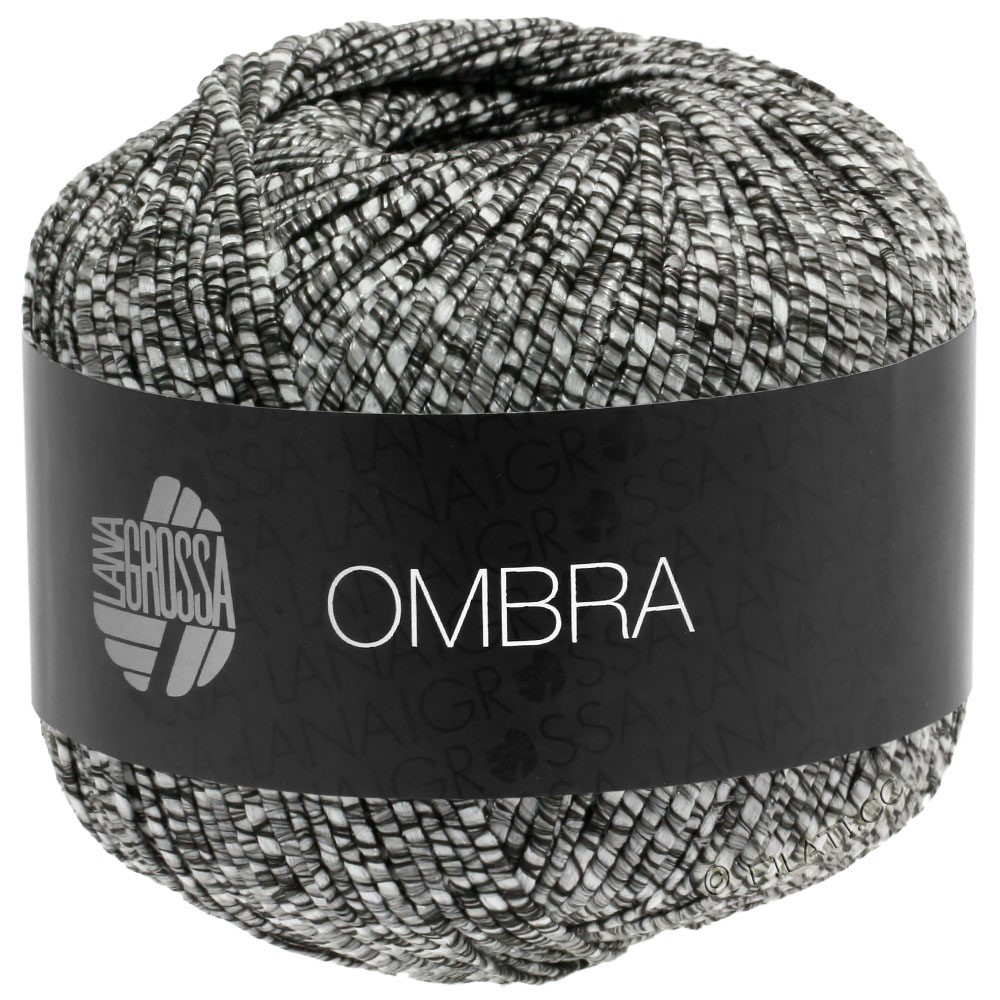 Lana Grossa OMBRA | 13-sortbrun/natur