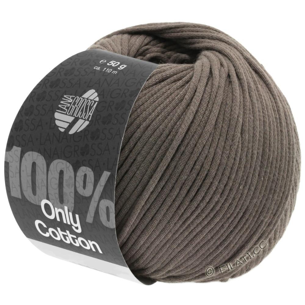 Lana Grossa ONLY COTTON | 04-gråbrun