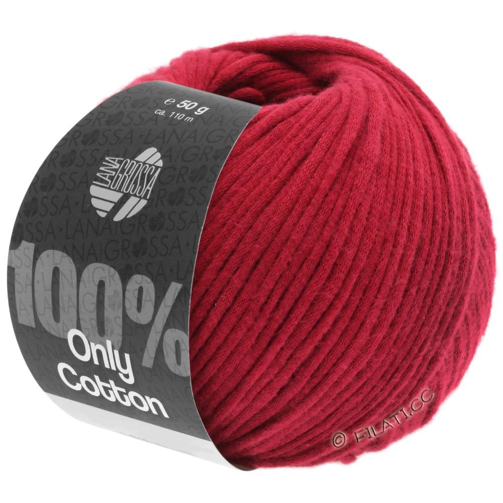 Lana Grossa ONLY COTTON | 08-rød