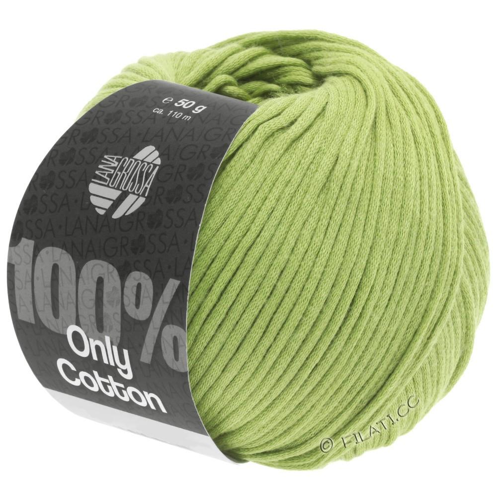 Lana Grossa ONLY COTTON | 23-limegrøn
