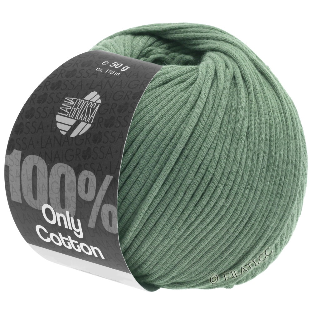Lana Grossa ONLY COTTON | 24-resedagrøn