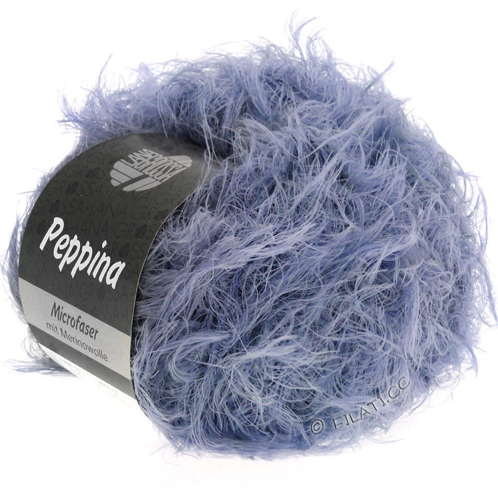 Lana Grossa PEPPINA | 21-grå purpur